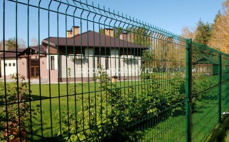 3д забор в Волжском